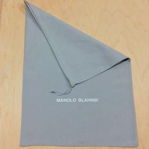 Manolo Blahnik ~ Dust Bag Cover ~ 21.5*15.5